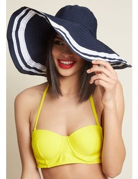 Functional Fashionista Sun Hat by Modcloth