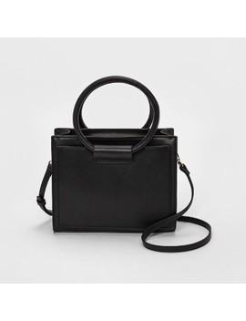 Circle Handle Satchel Handbag   A New Day™ by A New Day™