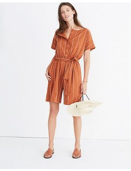 Ace&Jig™ Striped Weekend Romper by Madewell