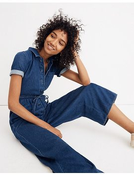 Denim Wide Leg Utility Jumpsuit by Madewell