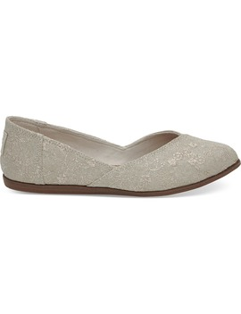 Natural Embroidery Women's Jutti Flats by Toms