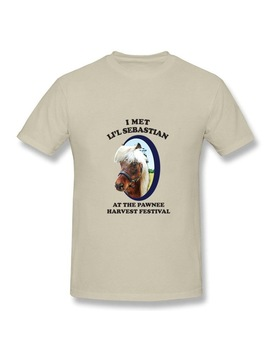 Hot Mens T Shirts Parks And Recreation Li'l Sebastian Men's Funny Tee Shirts Short Sleeved Mens 100 Percents Cotton Plus Size Clothing by Nlking Brand