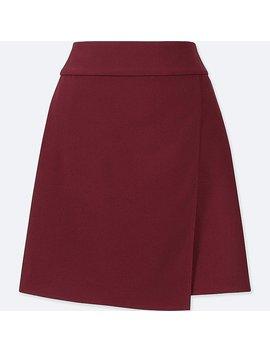 Women Wrap Mini Skirt (High Waist) by Uniqlo