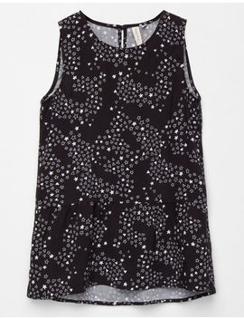 Sky And Sparrow Star Girls Babydoll Tank by Sky And Sparrow