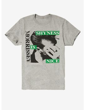Morrissey Shyness Is Nice T Shirt by Hot Topic
