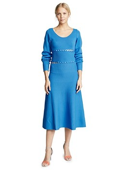 Kino Scoop Neck Convertible Knit Dress by Prabal Gurung