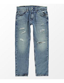 Levi's 502 Broom Tree Indigo Regular Fit Jeans by Levi's