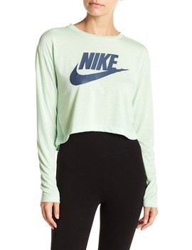 Logo Crop Top by Nike