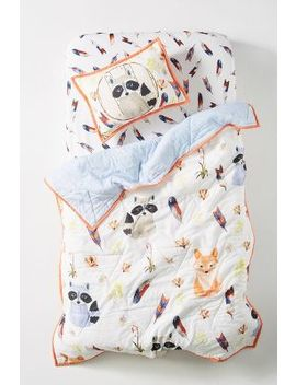river-luna-woodland-kids-quilt by river-luna