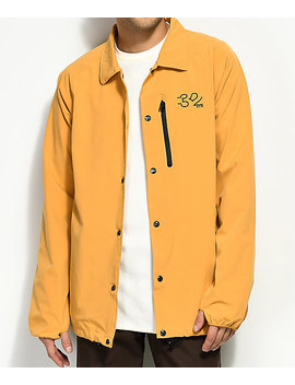 Thirty Two Wire 4 Ts Gold Coaches Jacket by Thirtytwo