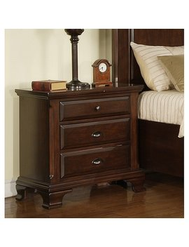 Picket House Furnishings Brinley Cherry Nightstand by Picket House