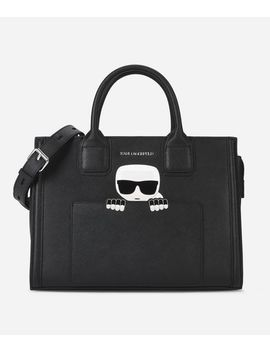K/Ikonik Tote Bag by Karl Legerfeld