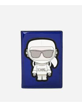 Karl Space Passport Holder by Karl Legerfeld