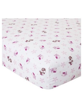 Bedtime Originals Crib Sheet   Lavender Woods by Shop This Collection