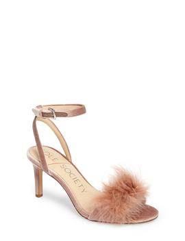 Lindzay Feather Sandal (Women) by Sole Society
