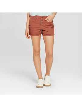 Women's High Rise Midi Utility Shorts   Universal Thread™ Brown by Universal Thread™