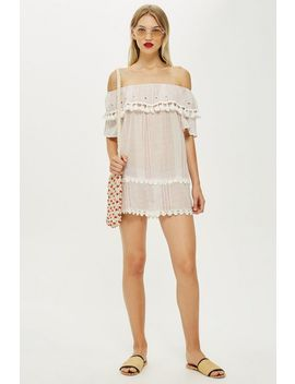 Strap Tassel Dress by Topshop