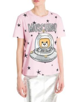 Space Teddy Tee by Moschino