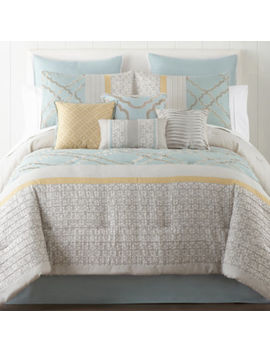 Home Expressions Gretchen 10 Pc. Comforter Set by Home Expressions