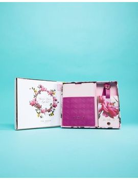 Ted Baker Luggage Tag And Passport Cover Set by Ted Baker