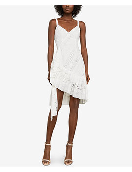 Asymmetrical Cotton Eyelet Dress by Bcbgmaxazria