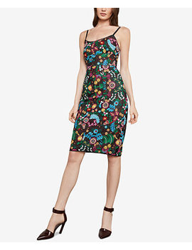 Floral Embroidered Bustier Dress by Bcbgmaxazria