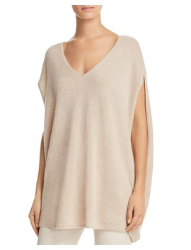 V Neck Cashmere Cape by Theory
