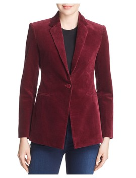 Corduroy Power Blazer by Theory