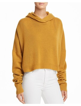Cashmere Drop Shoulder Hoodie by Theory