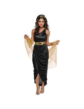 Dark Goddess Costume Adult Halloween Fancy Dress by Costumes Usa
