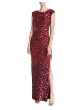 Jojo Embellished Fitted Gown by Alice + Olivia
