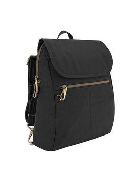Travelon Anti Theft Signature Slim Backpack, Black by Amazon