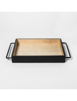 Decorative Tray   Black   Room Essentials™ by Room Essentials™