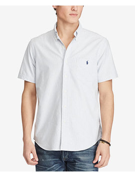 Men's Striped Oxford Shirt by Polo Ralph Lauren