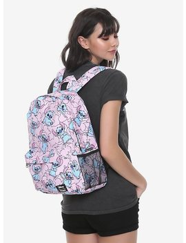 Loungefly Disney Lilo & Stitch Pink Stitch Backpack by Hot Topic