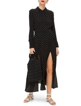 Dot Print Dress by Topshop