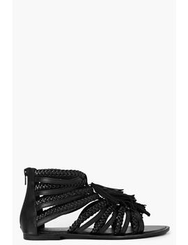 Boutique Multi Fringe Sandals by Boohoo