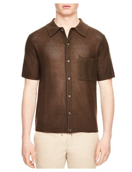 Enzo Button Down Polo by Sandro