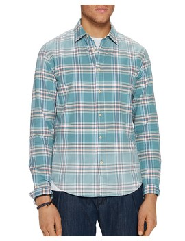 Bleached Plaid Relaxed Fit Shirt by Scotch & Soda