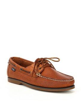 Men's Bienne Leather Boat Shoe by Generic
