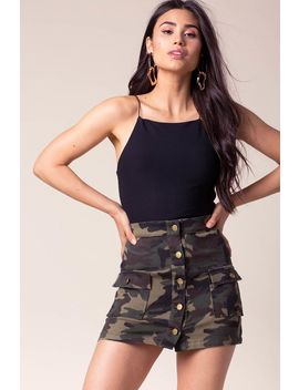 Now You See Me Camo Skirt by A'gaci