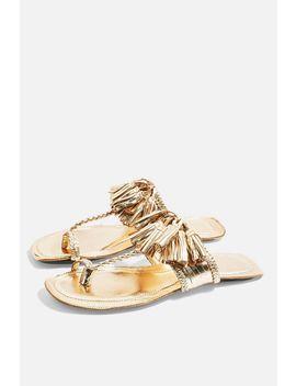 Fleur Fringed Sandals by Topshop