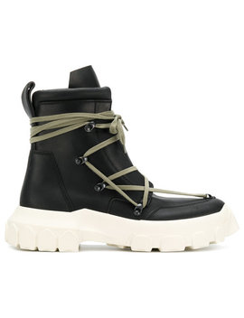 Rick Owens Hike Lace Up Bootshome Men Shoes Boots by Rick Owens