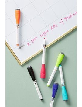 Maude Magnetic Dry Erase Markers, Set Of 6 by Anthropologie