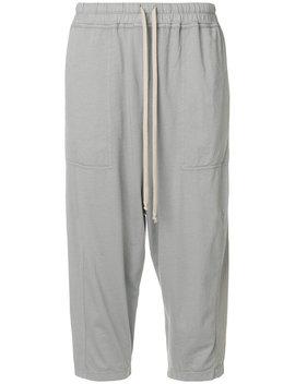 Rick Owens Drkshd Wcropped Trousershome Women Clothing Cropped Trousers by Rick Owens Drkshdw