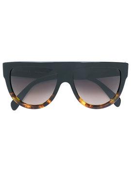 Flat Top Aviator Sunglasses by Céline Eyewear