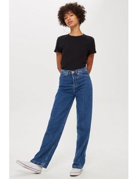 Moto Parallel Leg Jeans by Topshop