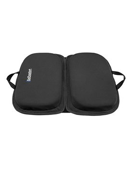 """Sojoy I Gel Comfort 3 In 1 Foldable Gel Seat Cushion Featured With Memory Foam (A Must Have Travel Cushion! Smart, Easy Travel Cushion) (Size: 18.5"""" X 15"""" X 2"""") by Sojoy"""