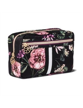 Sonia Kashuk™ Cosmetic Bag Overnighter Dark Floral With Webbing by Shop This Collection