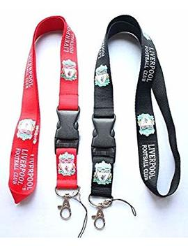 Liverpool Fc Lanyard Keychain Holder With Release Buckle by Shenton Tech